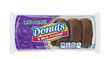 Mrs Baird's Rich Frosted Donuts